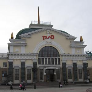 Железнодорожные вокзалы Урмар